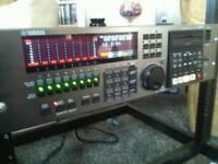 Yamaha digital 24 track recorder
