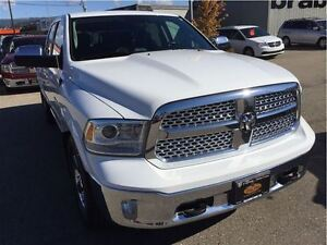 2014 Ram 1500 Laramie. Air Ride Suspension. Bluetooth, Tow Mirro