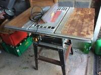 wickes power circular saw bench in good full working order