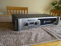 Crown XLS 1500 Amplifier. 1550w output! Internal crossover. Original box.