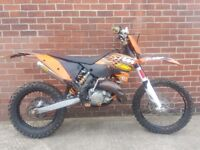 Ktm exc 125 57 plate