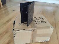 41 Blank Black DVD Cases - New