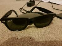Authentic Rayban Wayfarer sunglasses Polarised