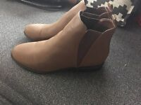 Red herring Chelsea boots size 8