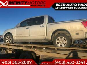 2007 NISSAN TITAN FOR PARTS PARTING OUT CARS CAR PARTS