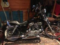 2007 Harley Davidson Sportster Chopper Bobber