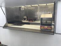 2 x 3M AJC Single Wheel lightweight GAS Catering Trailer Burger van Ready to work - May take Part Ex
