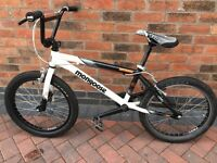 Mongoose Supergoose BMX white bike