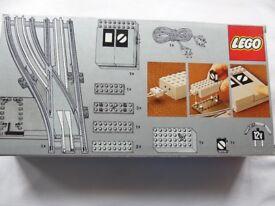 Lego 12 volt railway left-hand points set (7859)