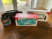 Nintendo Switch Lite console with accessories