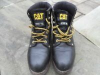 Caterpillar work boots size 9