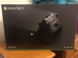 Xbox One X - Brand New In Box