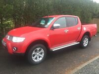 Late 2011 Mitsubishi l200 barbarian pick up finance available