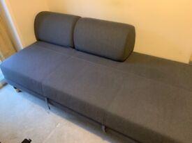 IKEA Flottebo, grey sofa bed as new