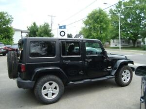 2012 Jeep Wrangler Unlimited SAHARA AUTOMATIQUE