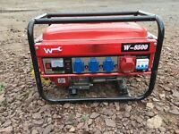 Petrol generator for sale, brand new.