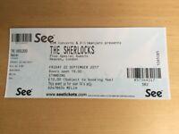 Ticket for The Shelocks @ Heaven, London, Friday 23rd September