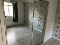 Free to collect- 2 glass sliding doors.