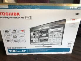 "40"" Toshiba Full HD Flat Screen SMART TV £150.00"