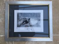 The Splash - Numbered photograph print of Sir Tom Finney