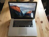 Macbook Pro Retina 15 inch late 2013 i7