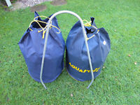 Aquaroll water barrells, Aquaroll Wastemaster and other accessories