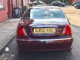 Rover 75 2.0 petrol 150bhp