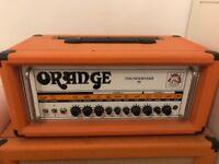 Orange thunderverb 50 TV50h rare discontinued valve amplifier head