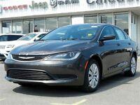 2015 Chrysler 200 LX Bluetooth Air Pwr Windows Pwr Locks Keyless