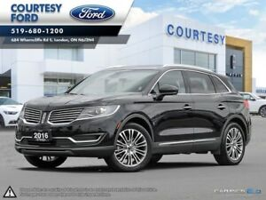 2016 Lincoln MKX Reserve SUNROOF l NAVIGATION l ALL WHEEL DRIVE