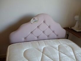 4 ft bed and headboard