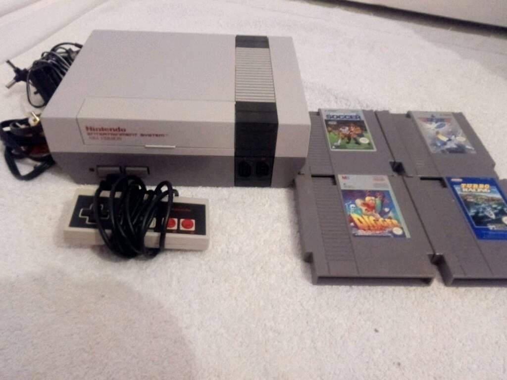 NES Nintendo Entertainment System Games Console