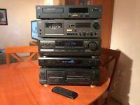 HiFi Separates (Technics Amp/Receiver,NAD CD,Sony FM/AM Tuner,Aiwa Cassette,NAD Cassette)