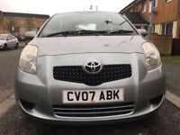 2007 toyota yaris 1.4 diesel 5 door full service history in excellent condition hpi clear