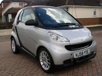 2008 (58) SMART FORTWO PASSION MHD AUTO - 24K MILES ONLY - FULL MOTOR HOME TOW KIT/BIKE RACK.