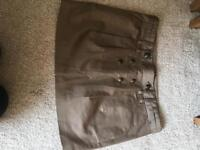 BCBGmaxazria brown skirt 8