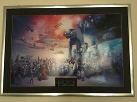 Star Wars Ltd addition lithograph
