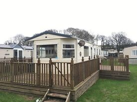 *SPECIAL OFFER MAY ONLY* SITED Mobile home Static Caravan with FULL DECKING INCLUDED 3 Bedroom BK