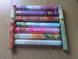incense sticks 9 boxes available
