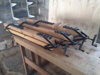 Panel Clamps / Sash Cramps. Set of three customisable clamps.