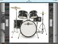 5 piece drum kit for young beginners (5-10 years old)