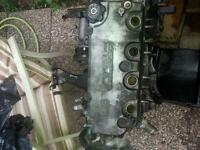 1998 D16Y8 engine with wire harness, and ECU!