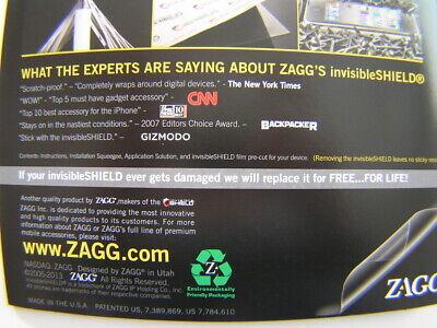 Zagg Metal Detector Screen Protector E-trac Equinox AT Pro Max Deus Anfibio F75 for sale  Loveland