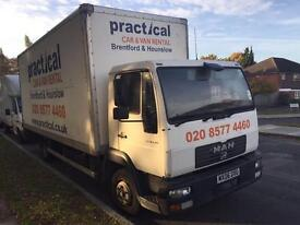MAN LE 8.150 06 PLATE 20 FT CURTAIN SIDE WITH TAIL LIFT £2500