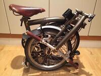 Brompton Folding Bicycle S3L limited Edition