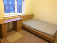 Bright double room close to manchester city centre