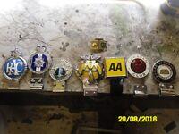 Car badges circa 1950/60/70s