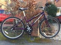 Girls Mountain Bike Falcon Inteceptor