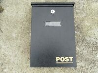 wall mounted letter box