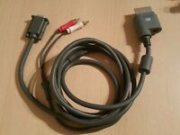 Xbox 360 VGA cable (play xbox 360 on pc monitor)